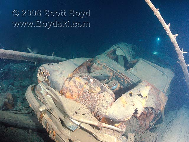 Cold Lake Dodge >> The Steele Dodge or Sherman Wreck, Lake Crescent - Dive Site Review