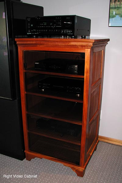 Stereo Cabinet Wood Cabinet Wood