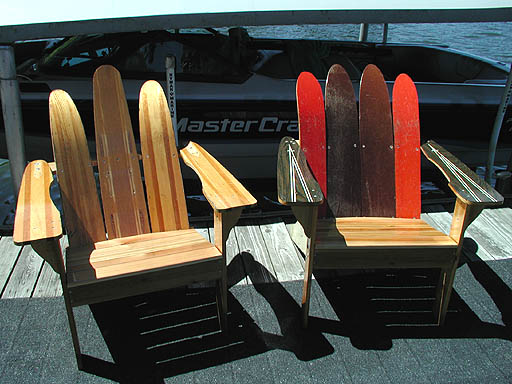 Adirondack Water Ski Chairs